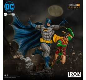 DC Comics - Deluxe Art Scale Batman & Robin by Ivan Reis Iron Studios figure 12
