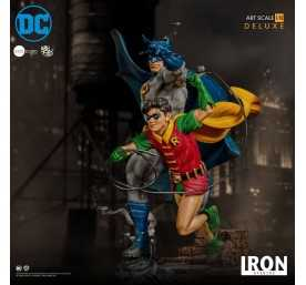 DC Comics - Deluxe Art Scale Batman & Robin by Ivan Reis Iron Studios figure 14