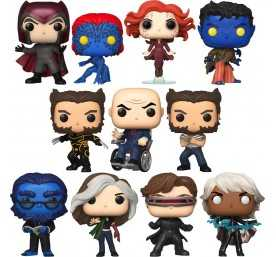 Marvel - Pack con 11 Pop X-Men 20th Anniversary