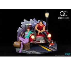 Figurine Oniri Creations City Hunter 35th Anniversary - Kaori Makimura & Ryo Saeba