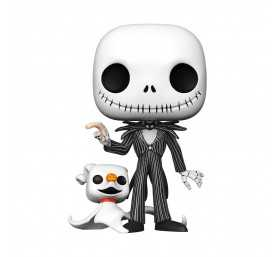 Disney Nightmare Before Christmas - Super Sized Jack & Zero POP! Funko figure