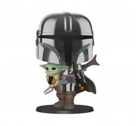 Star Wars: The Mandalorian - Super Sized The Mandalorian with the Child POP! Funko figure