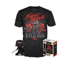 Star Wars Episode IX - POP! & T-Shirt Kylo Ren (Supreme Leader) Funko figure