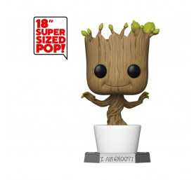 Figurine Funko Marvel Les Gardiens de la Galaxie - Super Sized Groot POP!