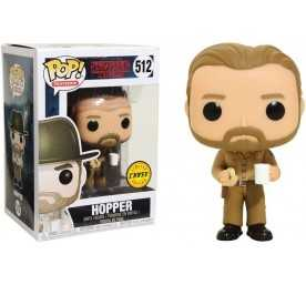 Figura Funko Stranger Things - Hopper Chase POP!