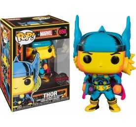 Figurine Funko Marvel - Black Light Thor POP!