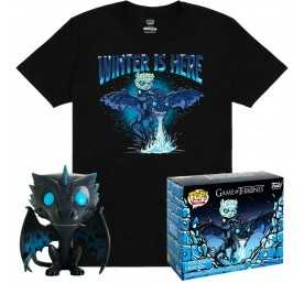 Figurine Funko Game of Thrones - POP! & T-Shirt Viserion heo Exclusive