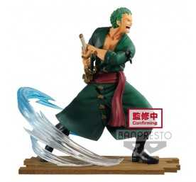 One Piece - Log File Collection Fight Vol. 1 Roronoa Zoro Banpresto figure