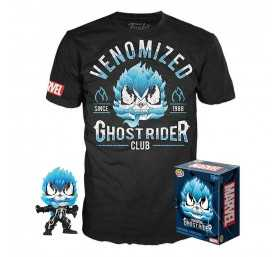 Figurine Funko Marvel - POP! & T-Shirt Venomized Ghost Rider