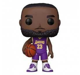 Figura Funko NBA - Super Sized LeBron James (Camiseta morada) POP!