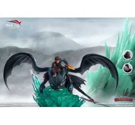 How to Train Your Dragon - Toothless and Hiccup Taka Corp statue figure