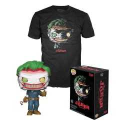 Figurine Funko DC Comics - POP! & T-Shirt The Joker (Death of the Family)